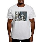 Alien Couple - Ash Grey T-Shirt