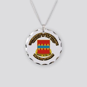 Army - 725th Maintenance Battalion Necklace Circle