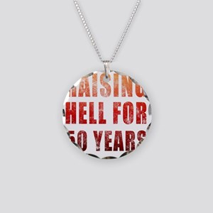 Hell50 Necklace Circle Charm