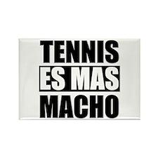 Tennis Es Mas Macho Rectangle Magnet