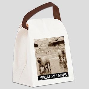 sealyhams Canvas Lunch Bag