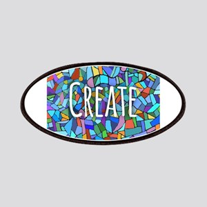 Create - inspiring words Patches