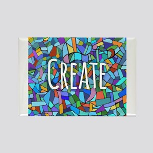 Create - inspiring words Magnets