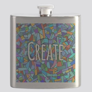 Create - inspiring words Flask