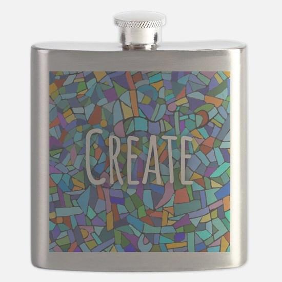 Create - inspiring words Flask