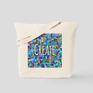 Create - inspiring words Tote Bag
