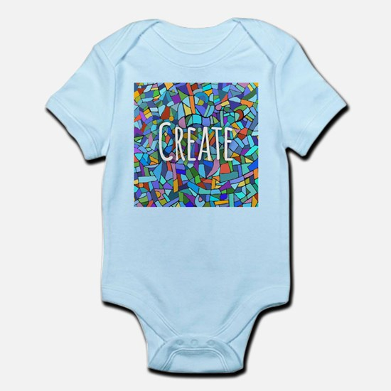 Create - inspiring words Body Suit