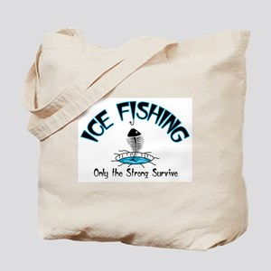 Ice Fishing Tote Bag