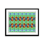 Pyramid Arabesque Framed Panel Print