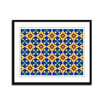 Arabesque Framed Panel Print