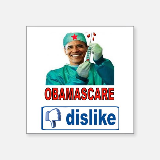 OBAMASCARE Sticker