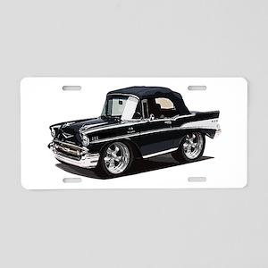 BabyAmericanMuscleCar_57BelR_Black Aluminum Licens