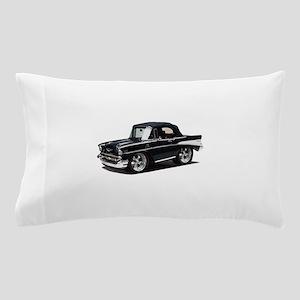 BabyAmericanMuscleCar_57BelR_Black Pillow Case