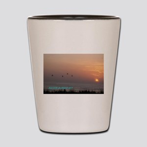 OBX Sunrise Shot Glass