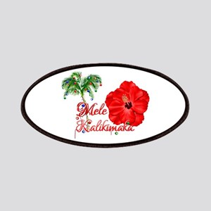 Mele Kalikamaka Patches