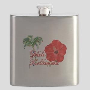 Mele Kalikamaka Flask