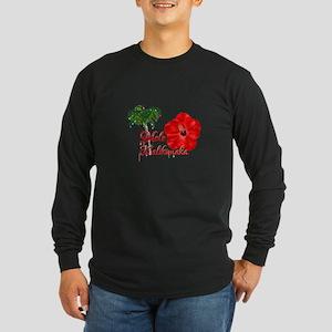 Mele Kalikamaka Long Sleeve T-Shirt