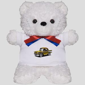 BabyAmericanMuscleCar_57BelR_Gold Teddy Bear