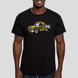 BabyAmericanMuscleCar_57BelR_Gold T-Shirt