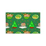 Christmas Trees, Cookies 3'x5' Area Rug