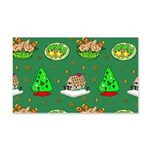 Christmas Trees, Cookies 20x12 Wall Decal