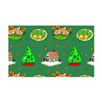 Christmas Trees, Cookies 35x21 Wall Decal