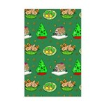 Christmas Trees, Cookies Mini Poster Print