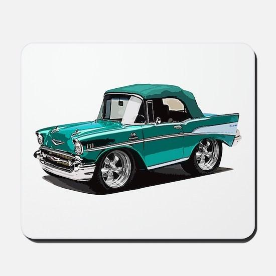 BabyAmericanMuscleCar_57BelR_Green Mousepad