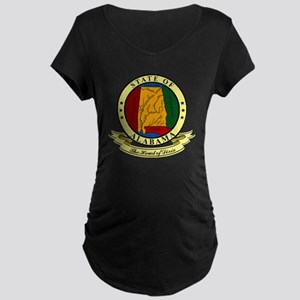 Alabama Seal Maternity Dark T-Shirt