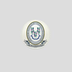 Connecticut Seal Mini Button