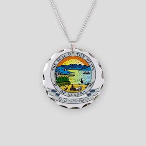 Alaska Seal Necklace Circle Charm