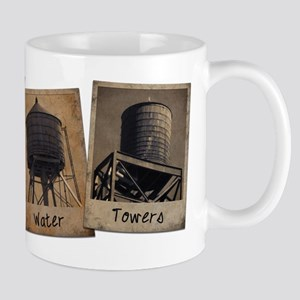 New York City Water Towers Mugs
