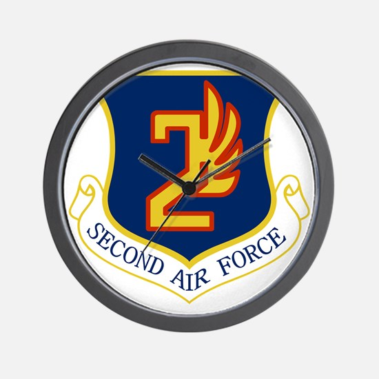 2nd Air Force Wall Clock