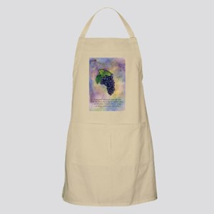 Pinot Noir Red Wine Grapes Art Apron