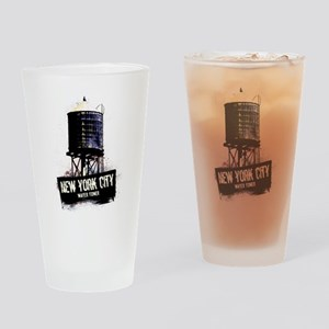 New York City Water Tower Drinking Glass