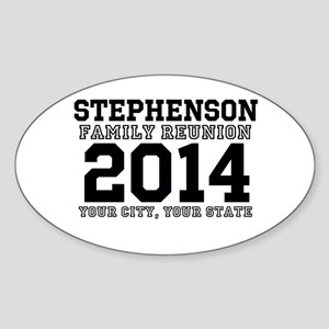 Custom Family Reunion Bold Varsity Text Sticker