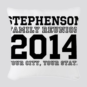 Custom Family Reunion Bold Varsity Text Woven Thro