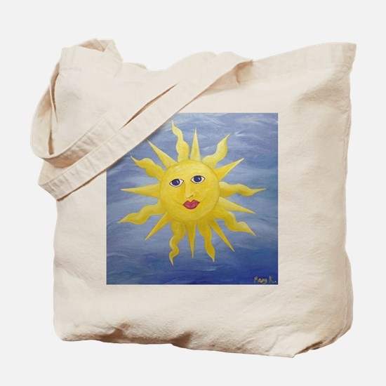 Whimsical Sun Tote Bag