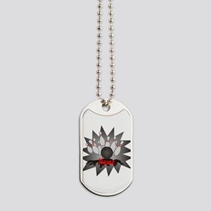 Personalized Bowling Dog Tags