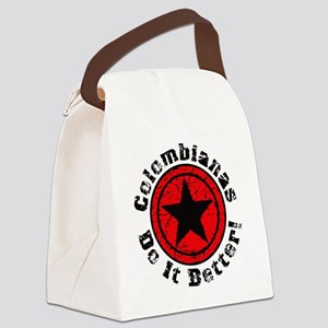 Colombianas Do It Better Grunge - Canvas Lunch Bag