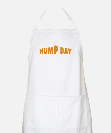 Hump Day [text] Apron