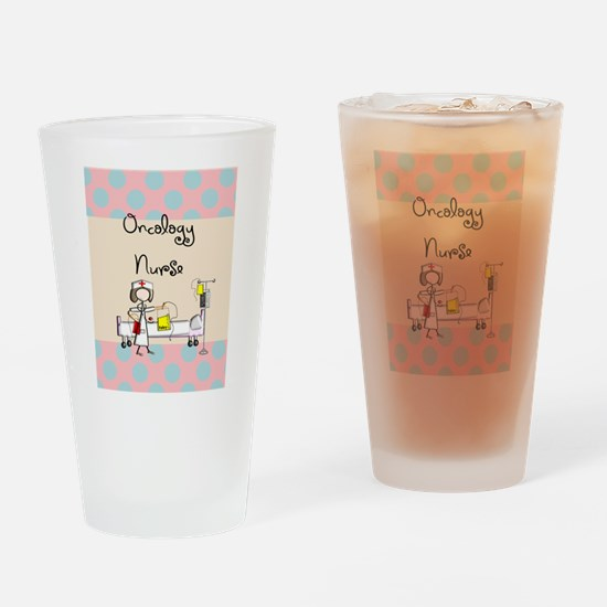 Oncology Nurse 5 Drinking Glass