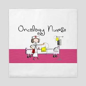 Oncology Nurse 3 Queen Duvet