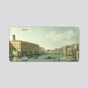 The Grand Canal from the Ri Aluminum License Plate