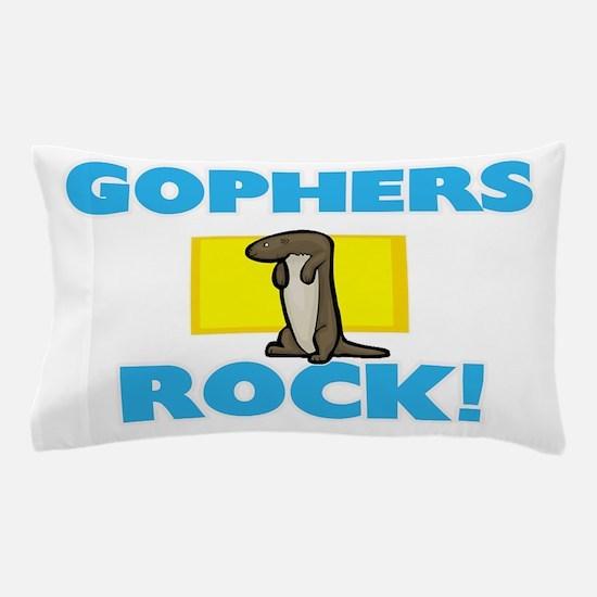 Gophers rock! Pillow Case