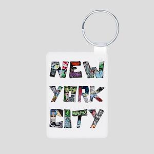 New York City Street Art Keychains