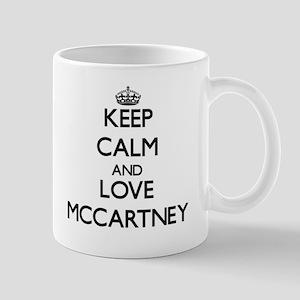 Keep calm and love Mccartney Mugs