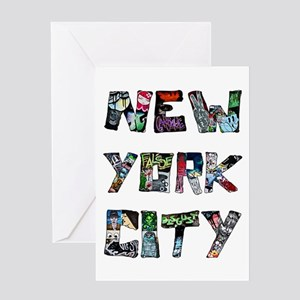 New York City Street Art Greeting Cards