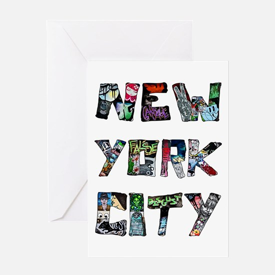 New York City Street Art Greeting Cards