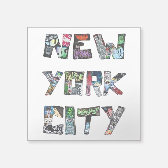 New York City Street Art Sticker